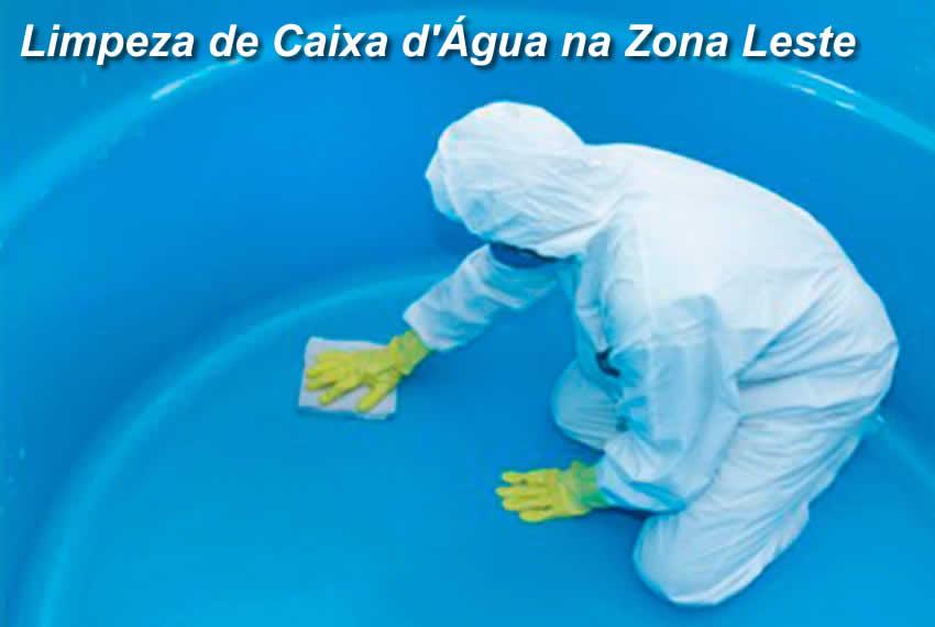 Limpeza de Caixa d'Água Zona Leste